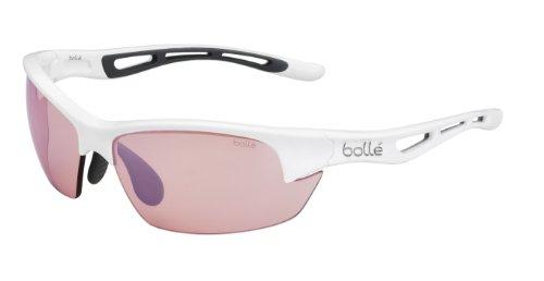 bolle(ボレー) サングラス Bolt S 11780 Shiny White Modulator Rose Gun oleo AF