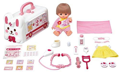 メルちゃん お人形セット うさぎさんきゅうきゅうしゃ デラックスセット
