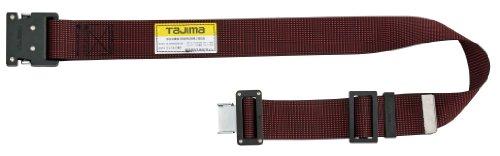 タジマ 安全帯 胴ベルトWM125 ドット赤 長さ125cm TA-WM125-DRE