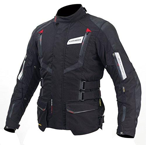 コミネ(Komine) バイクジャケット フルイヤージャケット-ガリア ブラック/レッド L 07-572 JK-572