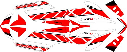 エムディーエフ(MDF) グラフィックキット コンプリートセット ストロボモデル レッド FZ1FAZER(06-) MFAZ10-D-RD-ALL