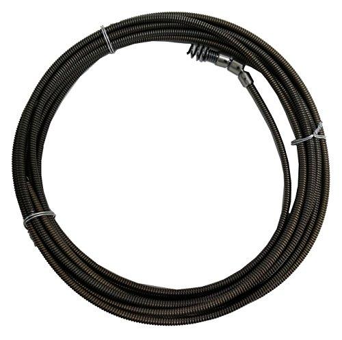 カンツール ワイヤー式排水管清掃器用部品 シングル・ワイヤー 8×8m SW0808