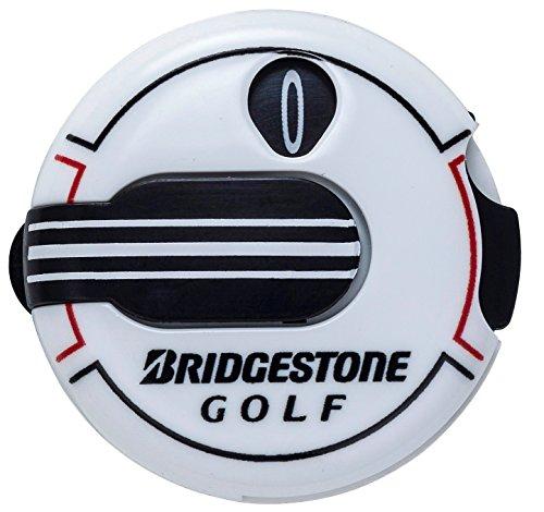 BRIDGESTONE ブリヂストン 開催中 GOLF ディスカウント GAG408 ホワイト スコアカウンター
