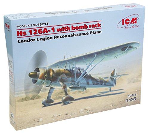 ICM 1/48 ヘンシェル HS 126A-1 偵察機 w/爆弾