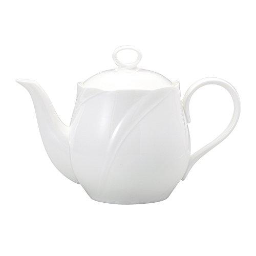 NARUMI スパイラルホワイト エスプレッソコーヒーポット 560cc 8382-4412