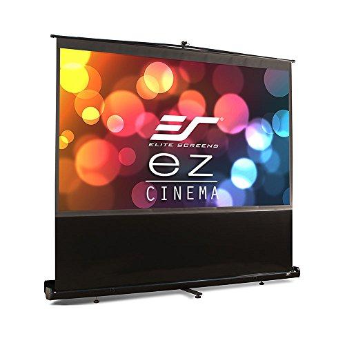 エリートスクリーン プロジェクタースクリーン EZシネマ 84インチ(16:9) マックスホワイト素材 ブラックケース F84NWH