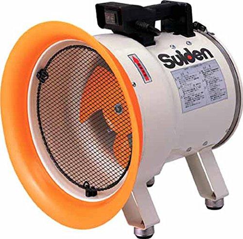 スイデン(suiden) 送風機 軸流ファン ハネ250mm 単相100V 低騒音省エネ SJF-250L-1