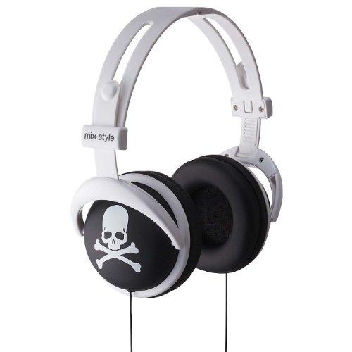 H011 Skull-Black/White