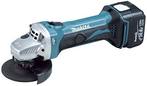 マキタ 充電式ディスクグラインダ 14.4V 3.0Ah 100mm 本体付属バッテリー1個搭載モデル GA400DRF