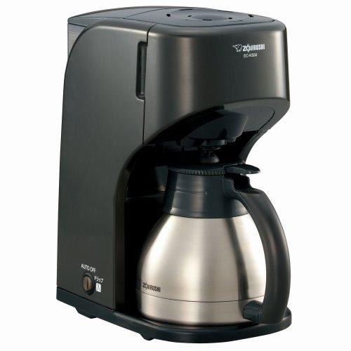ZOJIRUSHI コーヒーメーカー 【カップ約1~5杯】 EC-KS50-TB ダークブラウン