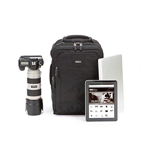 【国内正規品】thinkTANKphoto シンクタンクフォト カメラリュック エアポートコミューター 20.9L PC収納可 ブラック 004865