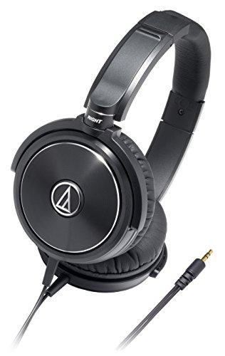audio-technica SOLID BASS 密閉型オンイヤーヘッドホン ポータブル ブラック ATH-WS99