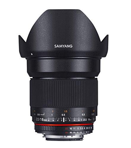 SAMYANG 単焦点広角レンズ 16mm F2.0 ペンタックス K用 APS-C用