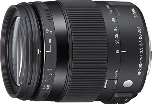 SIGMA 高倍率ズームレンズ Contemporary 18-200mm F3.5-6.3 DC MACRO OS HSM ニコン用 APS-Cサイズ 885557