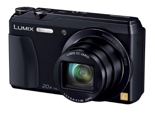 Panasonic デジタルカメラ ルミックス TZ55 光学20倍 ブラック DMC-TZ55-K