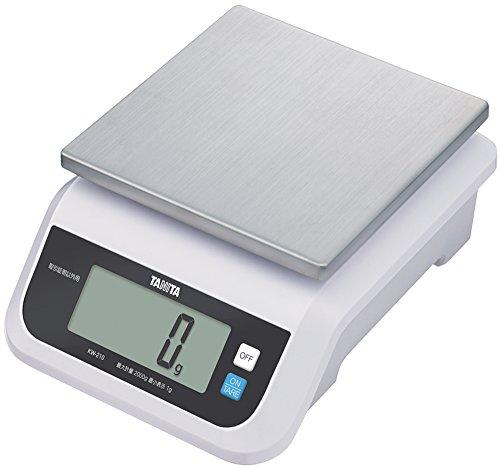 TANITA デジタルスケール(取引証明以外用) 5kg ホワイト KW-210-WH 5kg
