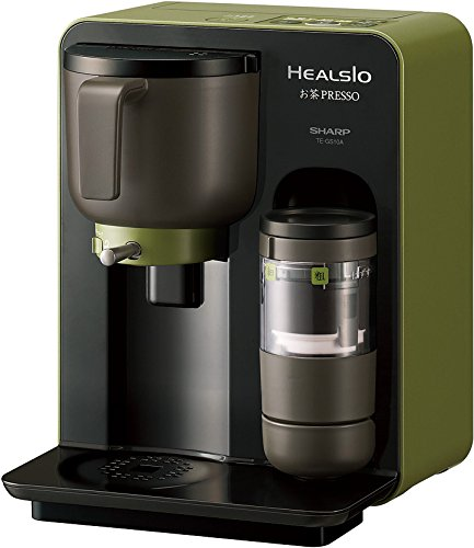 シャープ ヘルシオ(HEALSIO) お茶プレッソ ブラック TE-GS10A-B