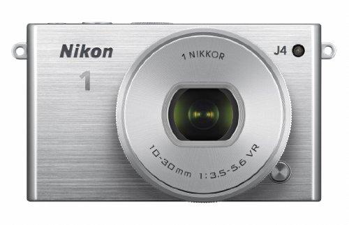 Nikon 1 J4 標準パワーズームレンズキット [シルバー]