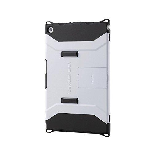 【2014年モデル】ELECOM SONY Xperia Z2 Tablet 衝撃吸収ケース フルプロテクトスタンドタイプ ホワイト TBM-SOZ2AHVWH