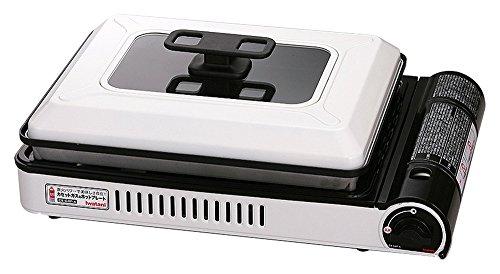 イワタニ 【カセットこんろとしても使える】 カセットガスホットプレート 焼き上手さんα(アルファ) CB-GHP-A