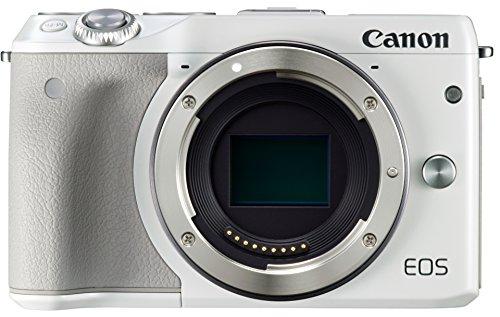 Canon ミラーレス一眼カメラ EOS M3 ボディ(ホワイト) EOSM3WH-BODY