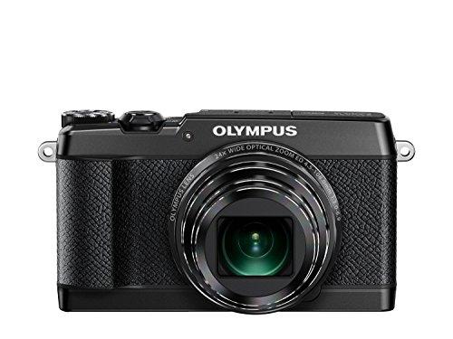 OLYMPUS デジタルカメラ STYLUS SH-2 ブラック 光学式5軸手ぶれ補正 光学24倍&超解像48倍ズーム SH-2 BLK