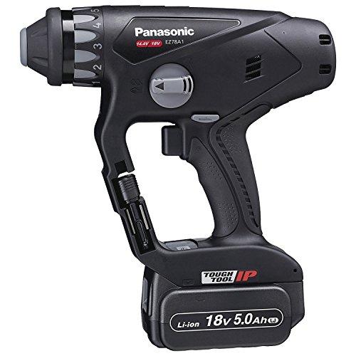 パナソニック(Panasonic) 充電マルチハンマードリル 18V 5.0Ah 黒 EZ78A1LJ2G-B