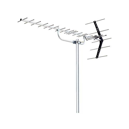 DXアンテナ 地上デジタルアンテナ 八木式 UHF平面 (20素子相当) 中・弱電界用 オールチャンネル対応 UA20S
