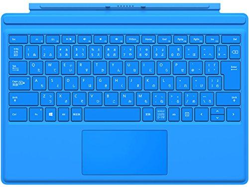 マイクロソフト 【純正】 Surface Pro 4用 タイプカバー シアン QC7-00071