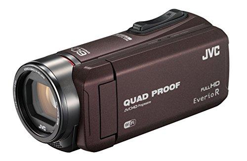 JVC ビデオカメラ Everio R 防水5m 防塵仕様 Wi-Fi対応 内蔵メモリー64GB ブラウン GZ-RX600-T