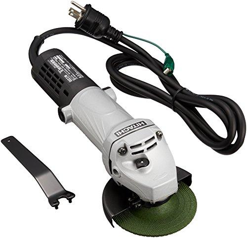 日立工機 電気ディスクグラインダ 砥石外径100mm 穴径15mm AC100V G10SH5(ES)3P可倒式プラグ付