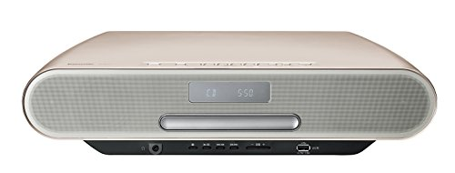 パナソニック ミニコンポ ハイレゾ音源対応 Bluetooth対応 ウォームゴールド SC-RS55-N