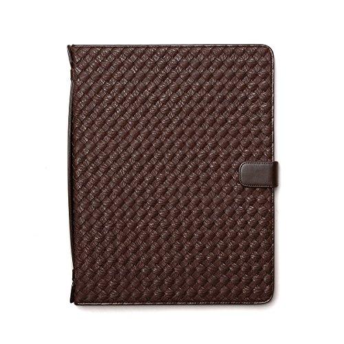 【日本正規代理店品】 Zenus iPad Pro 12.9インチ Mesh Diary ケース ダークブラウン
