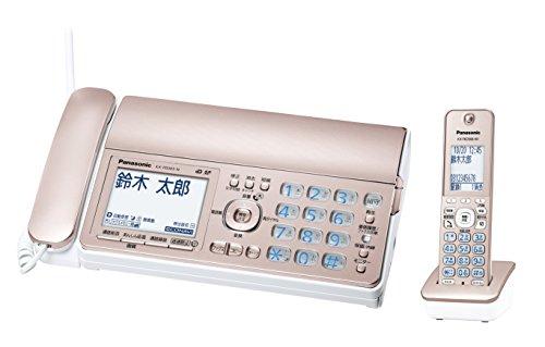 パナソニック デジタルコードレスFAX 子機1台付き 迷惑電話対策機能搭載 ピンクゴールド KX-PD305DL-N