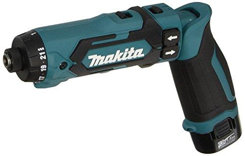 マキタ(makita) 充電式ペンドライバドリル 7.2V 1.5Ah バッテリ2本・充電器・アルミケース付 DF012DSHX