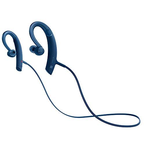 ソニー SONY ワイヤレスイヤホン MDR-XB80BS : 防水/スポーツ向け Bluetooth対応 リモコン・マイク付き ブルー MDR-XB80BS L