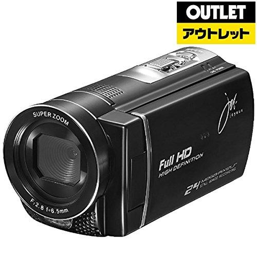 ジョワイユ JOY-D600BK JOYEUX 24メガピクセルフルハイビジョンデジタルムービーカメラ BK