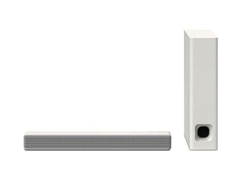 ソニー SONY サウンドバー 2.1ch NFC/Bluetooth ホームシアターシステム クリームホワイト HT-MT300 WM