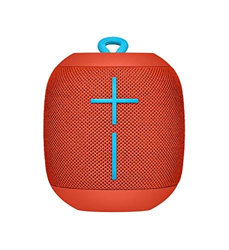 Ultimate Ears Bluetooth スピーカー UE WONDERBOOM ワンダーブーム 防水 ワイヤレススピーカー (FIREBALL レッド)  国内正規品 WS650RD