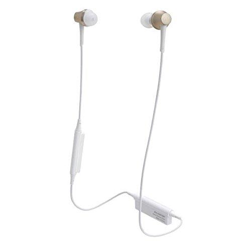 オーディオテクニカ Ver.4.1 Bluetooth対応ワイヤレスヘッドセット(シャンパンゴールド)audio-technica ATH-CKR75BT-CG