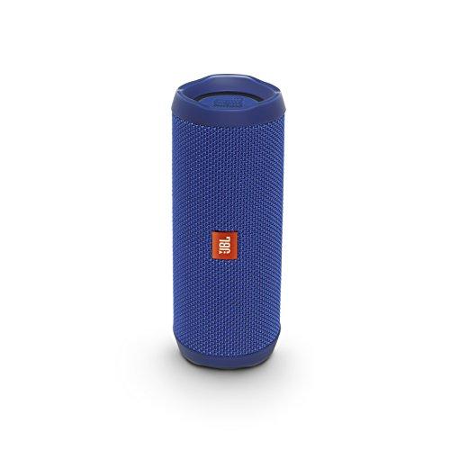 JBL FLIP4 Bluetoothスピーカー IPX7防水/パッシブラジエーター搭載/ポータブル ブルー JBLFLIP4BLU 【国内正規品】