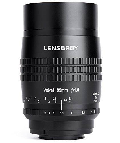 Lensbaby ソフトレンズ Velvet 85 85mm F1.8 ソニーαE用 フルサイズ対応