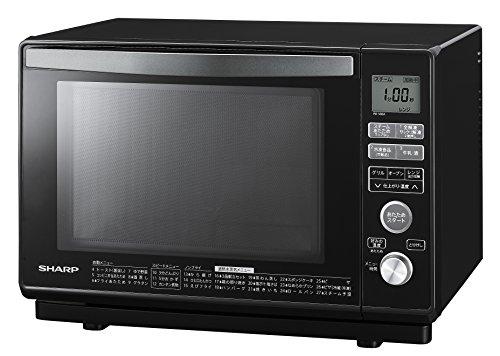 シャープ スチームオーブンレンジ 1段調理 23L ブラック RE-V80A-B