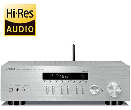 ヤマハ ネットワークレシーバー R-N303 ワイドFM AMチューナー Wi-Fi Bluetooth ハイレゾ音源対応 シルバー R-N303(S)