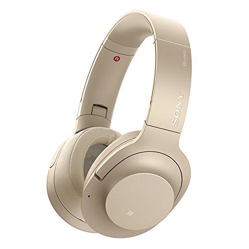 ソニー SONY ワイヤレスノイズキャンセリングヘッドホン h.ear on 2 Wireless NC WH-H900N : ハイレゾ/Bluetooth対応 最大28時間連続再生 密閉型 マイク付き 2017年モデル ペールゴールド WH-H900N N