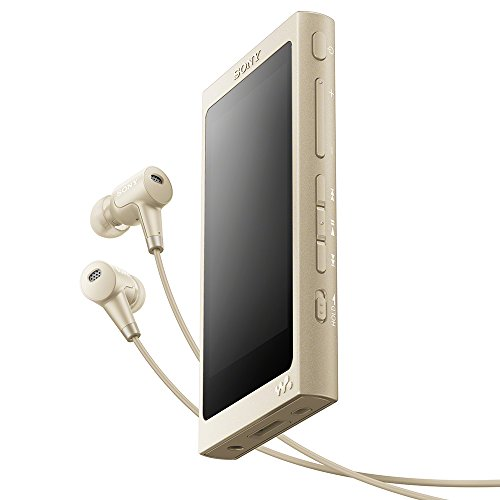 ソニー SONY ウォークマン Aシリーズ 16GB NW-A45HN : ハイレゾ/Bluetooth/microSD対応 最大39時間連続再生 ノイズキャンセリングイヤホン付属 2017年モデル ペールゴールド NW-A45HN N