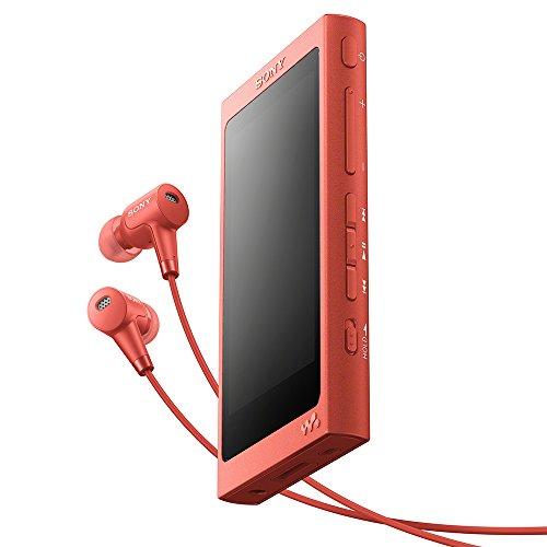 ソニー SONY ウォークマン Aシリーズ 16GB NW-A45HN : ハイレゾ/Bluetooth/microSD対応 最大39時間連続再生 ノイズキャンセリングイヤホン付属 2017年モデル トワイライトレッド NW-A45HN R