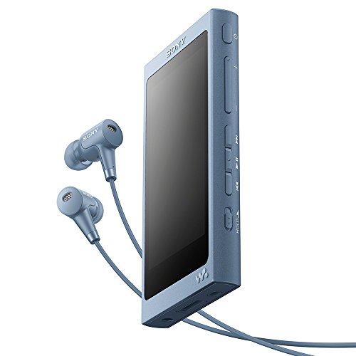 ソニー SONY ウォークマン Aシリーズ 32GB NW-A46HN : ハイレゾ/Bluetooth/microSD対応 最大39時間連続再生 ノイズキャンセリングイヤホン付属 2017年モデル ムーンリットブルー NW-A46HN L