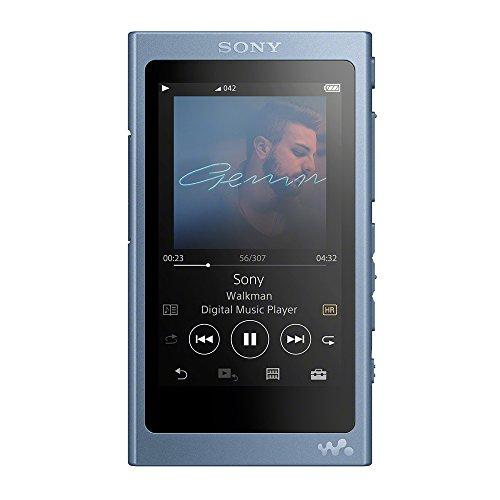 ソニー SONY ウォークマン Aシリーズ 64GB NW-A47 : ハイレゾ/Bluetooth/microSD対応 最大39時間連続再生 2017年モデル ムーンリットブルー NW-A47 L