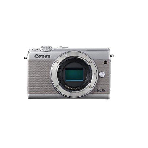 Canon ミラーレス一眼カメラ EOS M100 ボディー(グレー) EOSM100GY-BODY